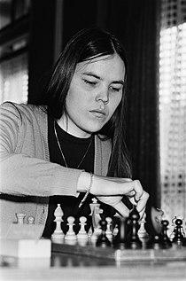 Nationaal kampioenschap schaken dames in Mijdrecht Nederlands kampioene Erika B, Bestanddeelnr 931-5014.jpg