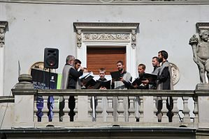 National Reading of 'Quo vadis' by Henryk Sienkiewicz in Łódź 2016 02.jpg