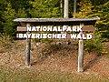 Nationalpark Bayerischer Wald, Hinweisschild.jpg