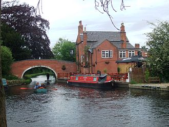 River Soar - Bridge over the Soar next to the Navigation, Barrow upon Soar