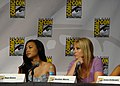 Naya Rivera & Heather Morris (4852259777).jpg