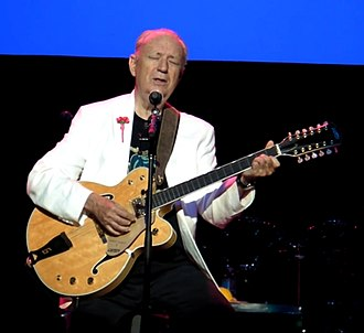 Michael Nesmith - Nesmith at the Pantages Theatre with the Monkees in 2016