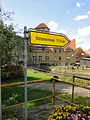 Neustadt-Glewe Wegweiser Partnergemeinde Oststeinbek 2012-09-12 055.JPG