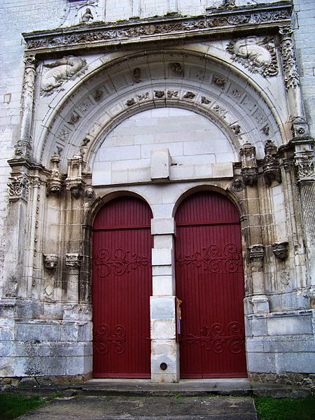 Église Saint-Symphorien de Neuvy-Sautour, portail nord