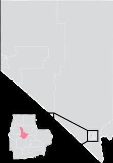 Nevadas 3rd Senate district American legislative district