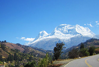 Huascarán National Park - Mount Huascarán, landmark and namesake of Huascarán National Park