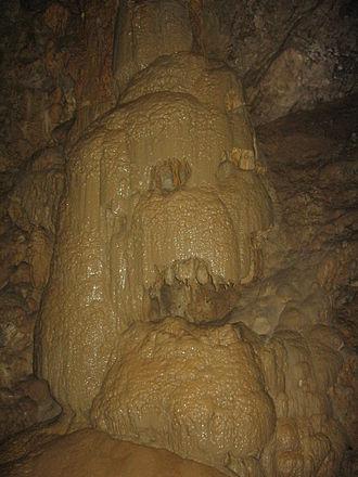 New Athos Cave - Image: New Athos skeleton