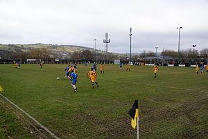 New Mills A.F.C. - New Mills AFC v Ramsbottom Utd at Church Lane