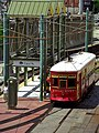 New Orleans - Riverfront Streetcar at Canal Street July 2019.jpg
