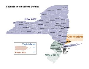 Map Of New York District Courts.Federal Reserve Bank Of New York Wikipedia