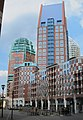 New highrise houses in the center of The Hague, very colourfull, but not nice - panoramio.jpg