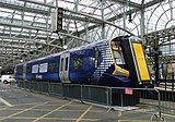 New train mock-up at Glasgow Central - geograph.org.uk - 1300543.jpg