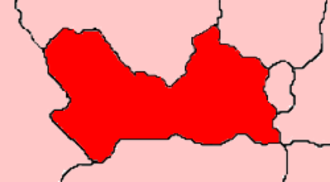 Newbury (UK Parliament constituency) - The Newbury constituency in 1954
