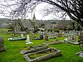 Newton Abbot cemetery chapel - geograph.org.uk - 1690215.jpg