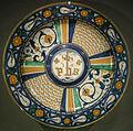 Ngv, maiolica di deruta, piatto, 1540 circa.JPG