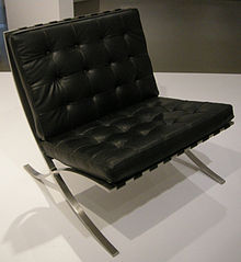 The Barcelona Chair. It Was There That She Met Ludwig Mies Van Der Rohe ...