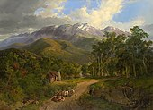 Nicholas Chevalier - The Buffalo Ranges - Google Art Project.jpg