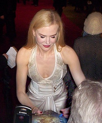 The Golden Compass (film) - Nicole Kidman at the film's premiere.