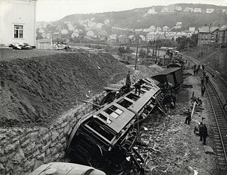 Nidareid train disaster