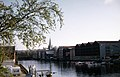 Nidelva sett sørover fra Bakke bru (1970) (49693125083).jpg