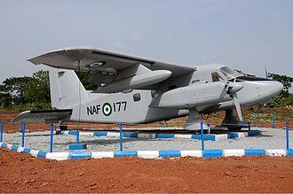 Nigerian Air Force - a Nigerian Air Force Dornier Do-128-6 Turbo Skyservant
