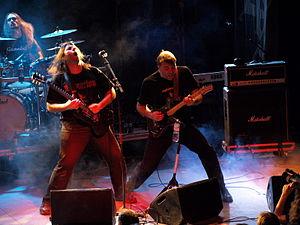 Nightingale (band) - Dan and Dag Swanö live at Nosturi