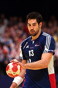 Nikola Karabatic, 31 januari 2010.