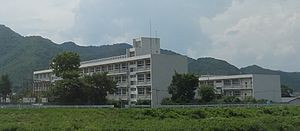 Nishiwaki junior high school in Nishiwakicity 01.JPG