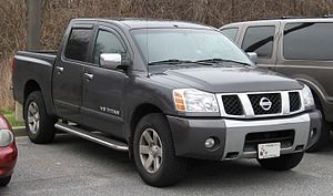 2004-2007 Nissan Titan photographed in USA. Ca...