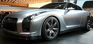 Tokyo Motor Show - Nissan GT-R Prototype at the 2005 Tokyo Motor Show
