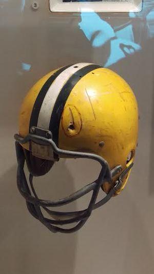 Ray Nitschke - Image: Nitschke Helmet