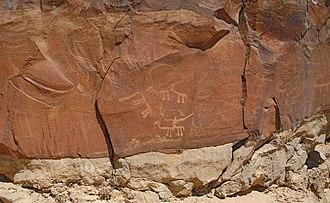 Nitzana (Nabataean city) - Image: Nitzana Petroglyphs