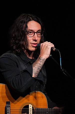Noah Gundersen - Gundersen performing at The Camp House in Chattanooga, Tennessee in January 2015