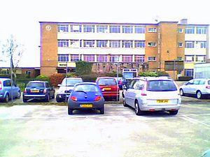 Noel-Baker School - Image: Noel Baker Upper School 2010