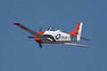 North American T-28B Trojan Navy N63NA Enemy Forces Suppression 2nd Pass 06 TICO 13March2010 (14412925139).jpg