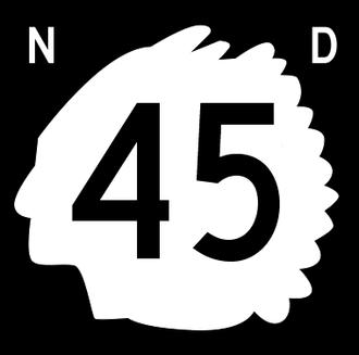 Griggs County, North Dakota - Image: North Dakota 45