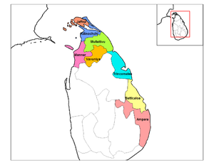 North Eastern Provincial Council election, 1988 - North Eastern Province, Sri Lanka, 1988-2006