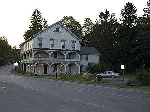 Hoosick, New York - Delany hotel, the hamlet of North Hoosick