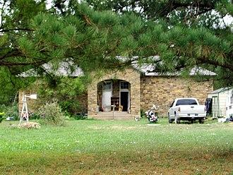 Norwood, Arkansas - Former Norwood School, September 2011