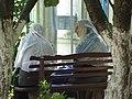 Nuns at Khrestovozdvyzhensky (Holy Cross) Convent - Poltava - Ukraine (43843160271).jpg