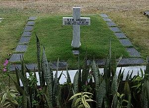 N. V. M. Gonzalez - Gonzalez is buried at the Libingan ng mga Bayani.
