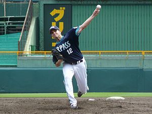 John Koronka - Koronka with the Orix Buffaloes