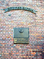 OPOLE szkoła ul Kościuszki 14, tablica pamiątkowa w ścianie. sienio.jpg