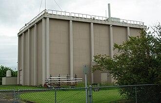 Oregon State University Radiation Center - Exterior of reactor