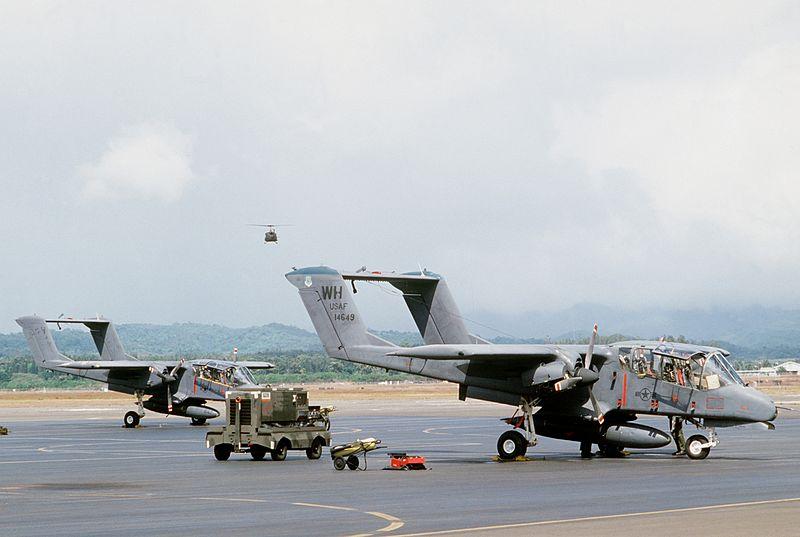 File:OV-10As 22nd TASS at Wheeler AFB 1984.JPEG