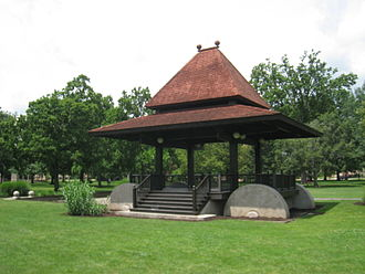 Tappan Square - The Clark Bandstand