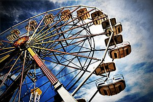 Ferris Wheel on the boardwalk in Ocean City, N...