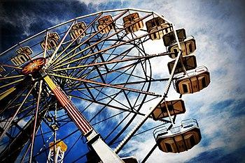 Ferris Wheel on the boardwalk in Ocean City, N...