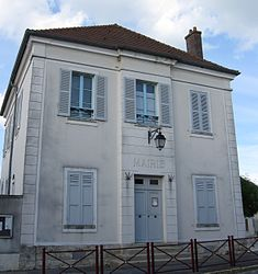 The town hall of Ocquerre