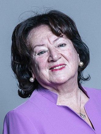 Margaret Eaton, Baroness Eaton - Official Portrait